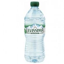 Acqua naturale bottiglia PET 100 riciclabile 500ml Levissima (conf.24)