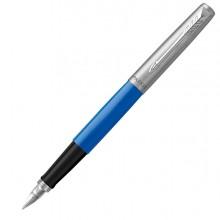 Penna stilo Jotter Original punta M fusto blu Parker