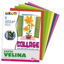 Busta di carta velina 50fg 50x76cm 10 colori assortiti CWR