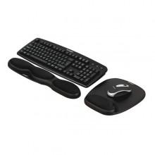 Mousepad C/ Poggiapolsi Comfort Gel Nero Kensington