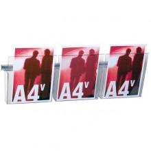 Kit Vision A4 L75Cm Con 3 Tasche A4 Trasparenti