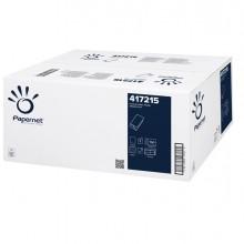 Pacco 150 asciugamani piegati a V goffrato a onda Papernet (conf.20)
