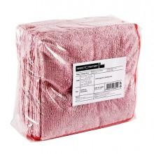 Pack 10 Panni microfibra 40x40cm rosso Ultrega PERFETTO
