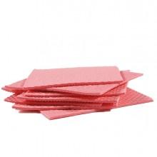 Pack 10 Pannospugna Aquos rosso PERFETTO