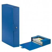 Scatola progetto C26 25x35cm dorso 6 blu ESSELTE (conf. 5 )