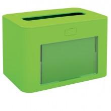 Dispenser personalizzabile verde lime per Tovaglioli interfogliati Papernet