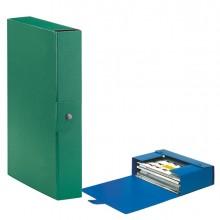 Scatola progetto C26 25x35cm dorso 6 verde ESSELTE (conf. 5 )