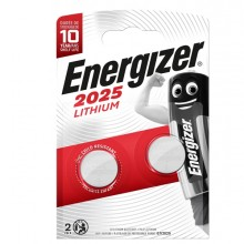 Blister 2 pile CR2025 Lithium - Energizer Specialistiche