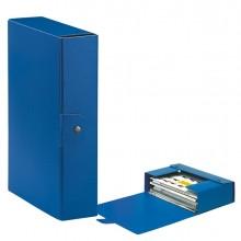 Scatola progetto C28 25x35cm dorso 8 blu ESSELTE (conf. 5 )