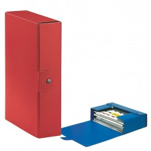 Scatola progetto C28 25x35cm dorso 8 rosso ESSELTE (conf. 5 )