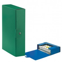 Scatola Progetto C28 25X35Cm Dorso 8 Verde Esselte (conf.5)