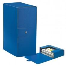 Scatola progetto C35 25x35cm dorso 15 blu ESSELTE (conf. 5 )