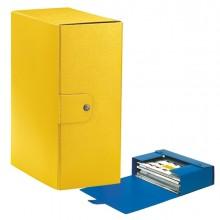 Scatola progetto C35 25x35cm dorso 15 giallo ESSELTE (conf. 5 )