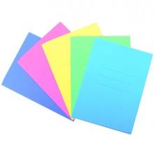 25 cartelline 3L pastello C/stampa rigatura celeste CARTEX BLASETTI
