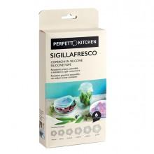 Set 6 Coperchi in silicone Sigillafresco Perfetto