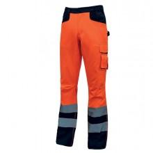 Pantalone invernale alta visibilitA' Beacon arancio fluo Taglia XXL U-Power
