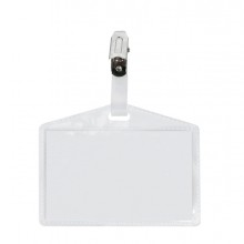 10 Portanome Pass 3P 9,5x6cm c/clip in metallo s/cartoncino Sei Rota