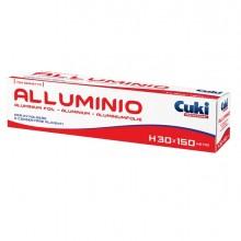 Roll alluminio H300mm x 150mt in astuccio con seghetto Cuki Professional