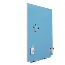Lavagne magnetiche modulare 75x115cm azzurro Rocada by Cep