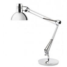 Lampada da tavolo Architect silver Alba
