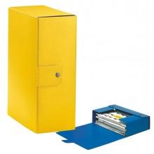 Scatola progetto C32 25x35cm dorso 12 giallo ESSELTE (conf. 5 )