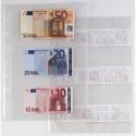 10 Buste Forate Atla 6S 21X29,7 Porta Scontrini Fiscali/Banconote Sei Rota