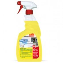 Sgrassatore Disinfettante Multi Activ 750ml Limone Sanitec