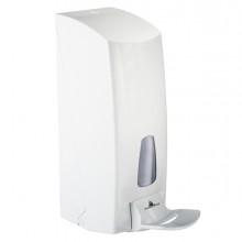 Dispenser a riempimento 1LT bianco con leva a gomito 855 MAR PLAST