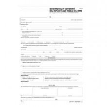 Dichiarazione conformitA' impianto snap 5 copie autor. DU184110000 Data Ufficio (Conf. 50)