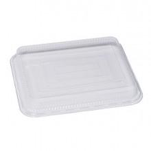 Pack 100 coperchi trasparenti in PET 22,9x17,9cm Cuki