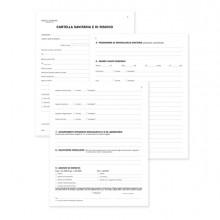 Registro cartella sanitaria/di rischio 34pag. num. 31x24,5cm DU131910000 DU (Conf. 10)