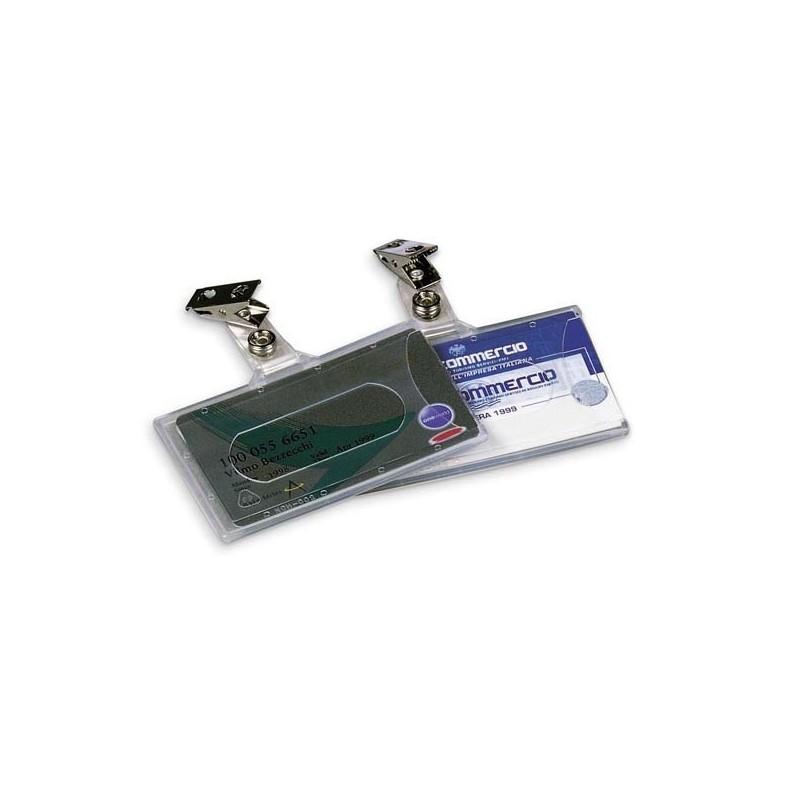 Portanome 9X5,6Cm Semirigido C/Clip 31-070 Lebez (conf.50)