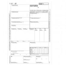 "Lettera di vettura internazionale CMR MC 5copie autor.12""x24cm DU18930M500 DU (Conf.50)"