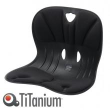 Seduta ergonomica Curble Wider nero TiTanium