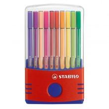 Astuccio 20 Pennarelli Stabilo Pen 68 Color Parade