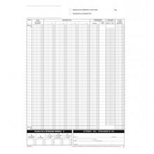 Blocco registro corrispettivi 12/12autor. 29,7x21,5cm DU168512C00 Data Ufficio (Conf.20)