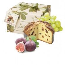 Panettone fico, Linea Frutta e Fiori 500g Loison (Conf.6)
