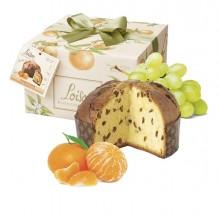 Panettone Mandarino, Linea Frutta e Fiori 500g Loison (Conf.6)