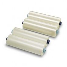 2 Bobine Film X Plastificazione 305Mmx60Mt 125Mic. Lucido