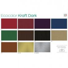 Scatola 100fg carta regalo Kraft Dark 70X100cm SADOCH
