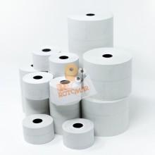 Blister 10 rotoli RC carta termica BPA free omolog. 55gr/mq 57,5mm x 20mt Ø40mm