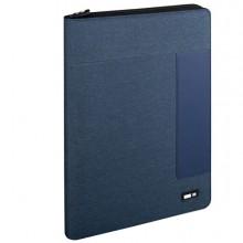 Portablocco bicolore A4 blu Niji