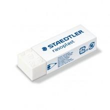Box 20 gomme Rasoplast 526 B20 dim. 63x13x23mm bianca per matita Staedtler