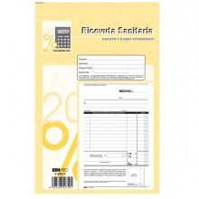 Blocco Ricevute Sanitarie Numerate 50/50 Fogli Autoric. 23X15 E5275C