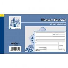 Blocco Ricevute Generiche 50Fogli 2 Copie Autoric. 9,9X17 E5563C