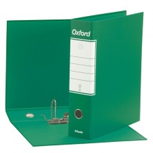 Registratore Oxford G83 Verde Dorso 8Cm F.To Commerciale Esselte (conf.6)