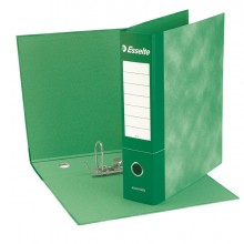 Registratore Essentials G75 Verde Dorso 8Cm F.To Protocollo Esselte (conf.6)