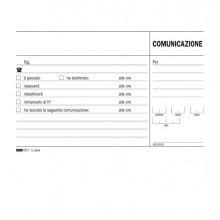 Blocco Comunicazioni Telefoniche 100Fg Uso Mano 9,9X17 E5693