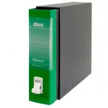 Registratore New Dox 1 Verde Dorso 8Cm F.To Commerciale Rexel
