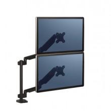 Braccio portamonitor doppio verticale Platinum Series Fellowes